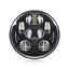 5-75-034-gloss-black-LED-daymaker-bullet-headlight-Harley-Softail-vrod-touring-FXST thumbnail 6