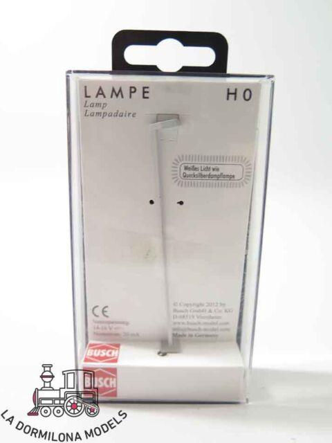 LS4198 - BUSCH 4198 H0 Mastleuchte AEG »Koffer 70« - Lampara (c134)