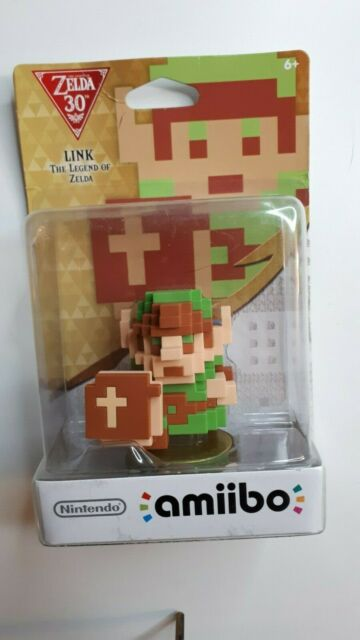 8-Bit Link Amiibo Zelda Breath of the Wild Skyrim Nintendo Switch Wii U 3DS NEW!