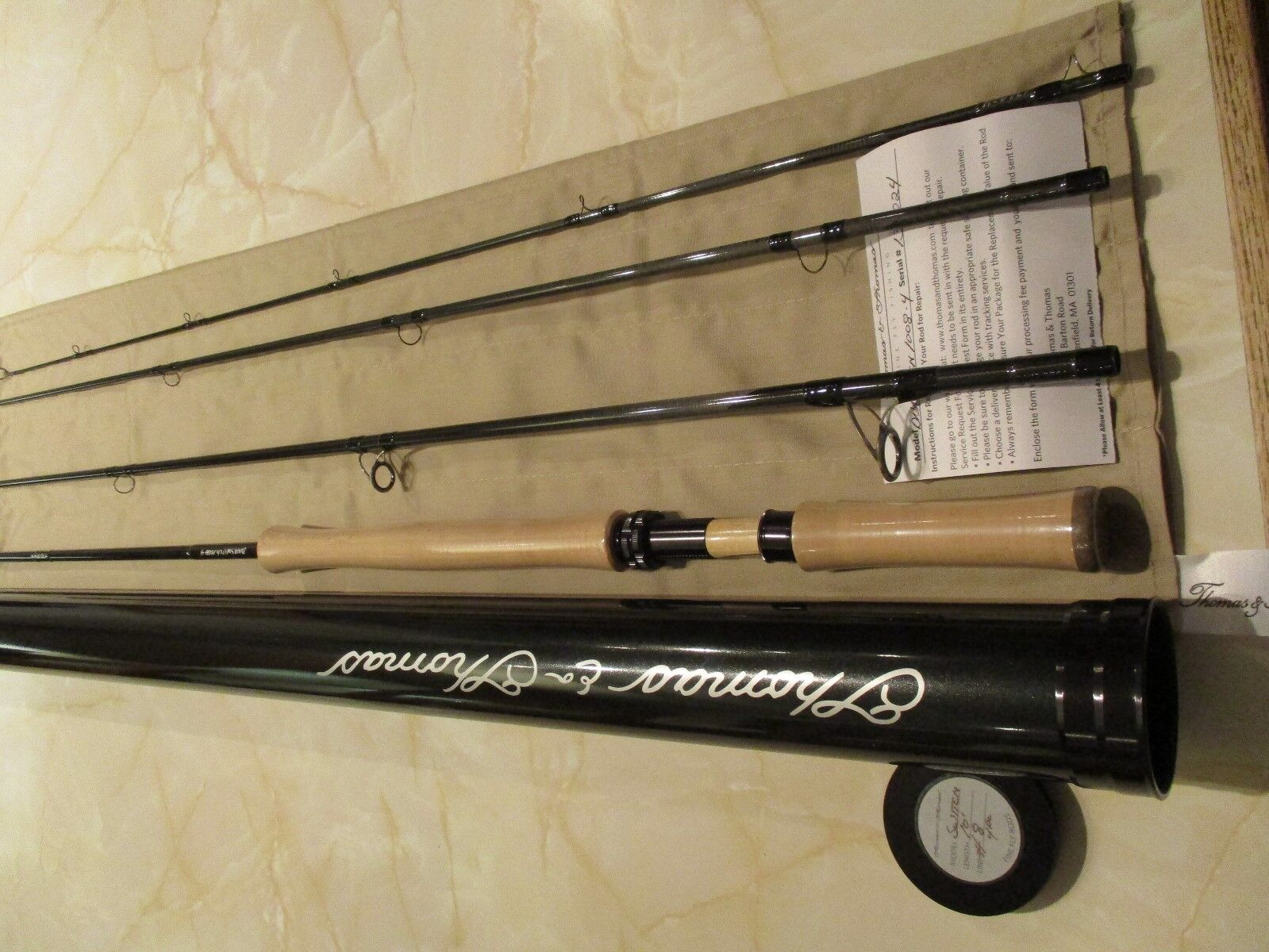 Special Offer Thomas & Thomas 4 Piece DNA Switch Series Fly Rod 10 Foot   8