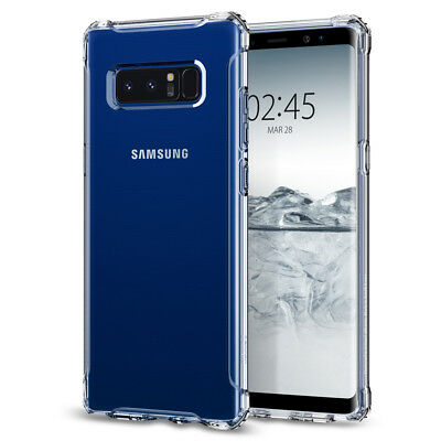 Spigen® Samsung Galaxy Note 8 [Rugged Crystal™] Shockproof Clear TPU Case Cover