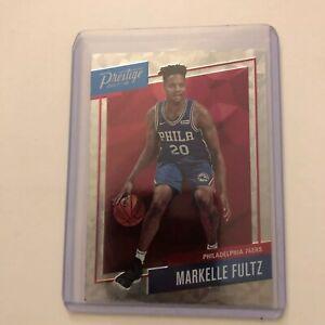 Markelle-Fultz-2017-18-Prestige-Micro-Etch-Silver-Rookie-Philadelphia-76ers-RC