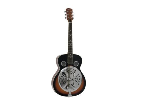DIMAVERY RS-300 Resonator-Gitarre sunburst