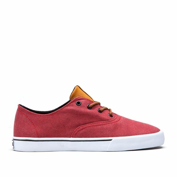 SUPRA WRAP Red Spice White Sz 8-11 S05039