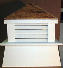 "16"" X 22"" TALL  VINYL CUPOLA ROOF VENT FOR YOUR WEATHER VANE/ALL SELF-HAND BUILT"