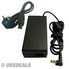 65 W de CA portátil Reino Unido Cargador Adaptador Para Acer Liteon Pa-1650-02 UE Chargeurs