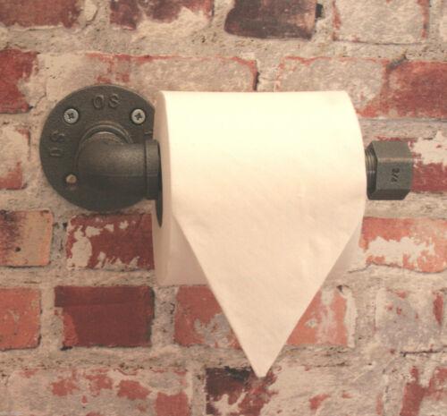 Industriel Tuyau En Acier Porte-rouleaux de papier toilette mural