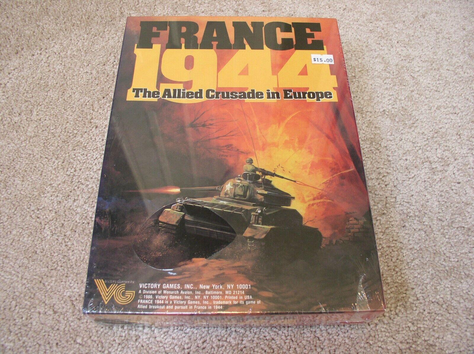 Victory Games France  1944 Coffret wargame-Scellé  pratique