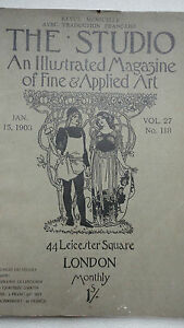 THE-STUDIO-an-illustrated-magazine-of-fine-art-amp-applied-art-jan-15-1903