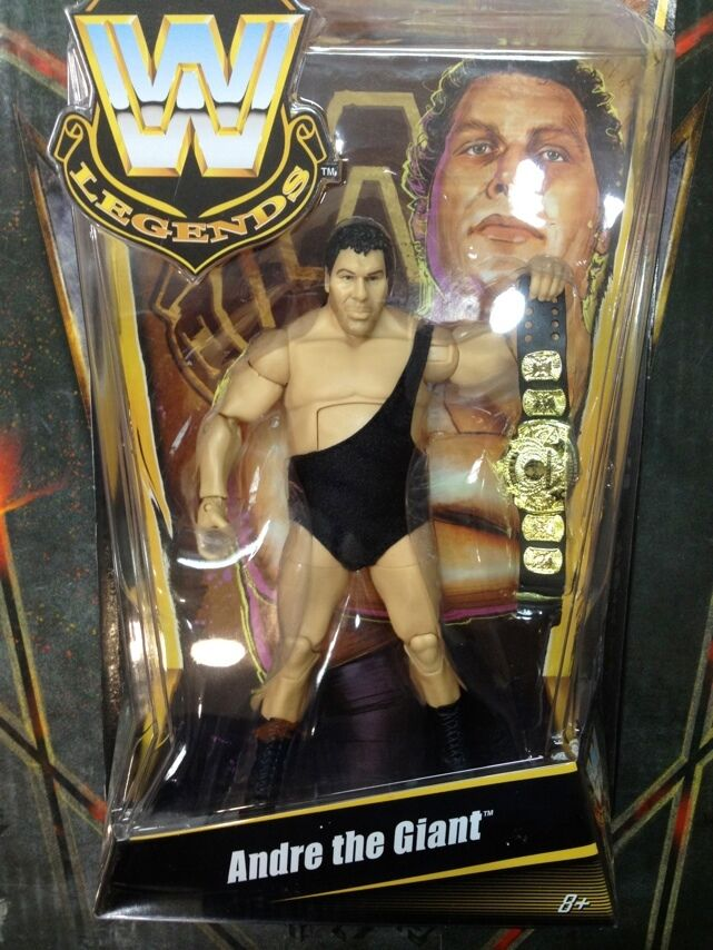 WWE Andre The Giant Legend Series Matty Collector Mattel Limited Edition Figure