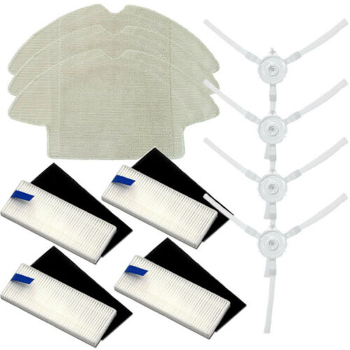 HEPA Filter Mop Cloth for QIHU 360 S6 Robotic Vacuum Cleaner Main /& Side Brush