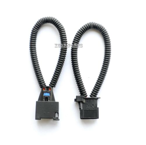 Mercedes BMW One Pair MOST fiber optic loop male /& female connector Audi