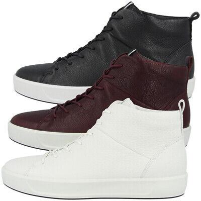Ecco Soft 8 Ladies Mid Schuhe Damen Leder Sneaker 440533 Biom Karma 7 High Top | eBay