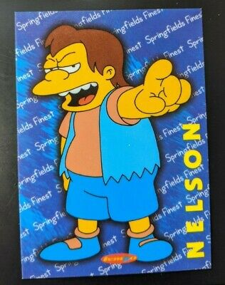 SIMPSONS DOWN UNDER PROMOTIONAL CARD 2