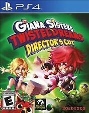 PS4 ACTION-GIANA SISTERS TWISTED DREAMS DIRECTORS CUT  PS4 NEW