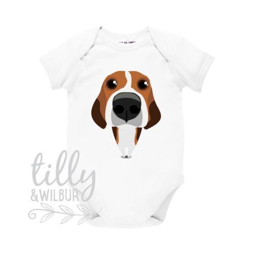 Beagle Lover Gift Beagle Baby Bodysuit Beagle Baby Shower Beagle Clothes