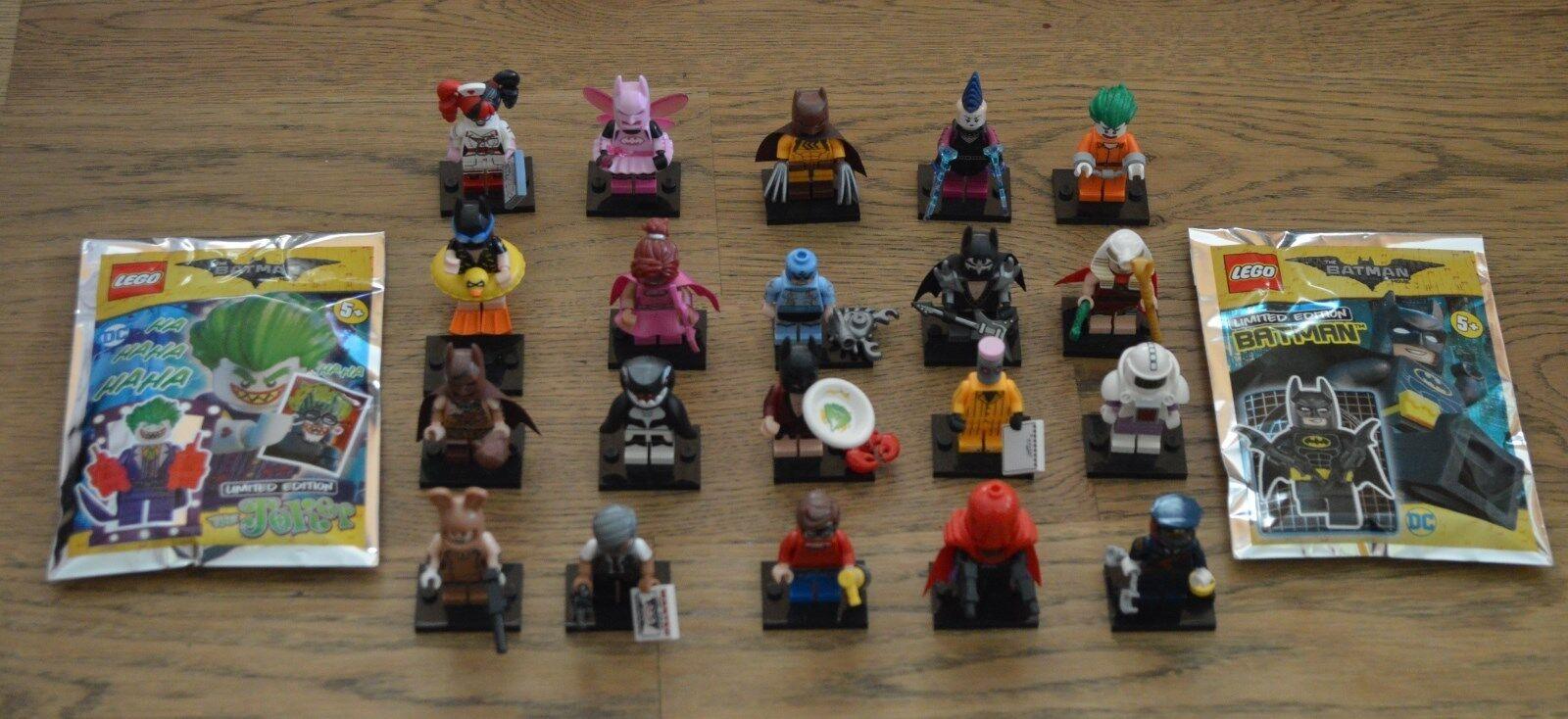 Lego 71017 Mini Figurines the Batman Movie Mini Figurine Limited Edition Select