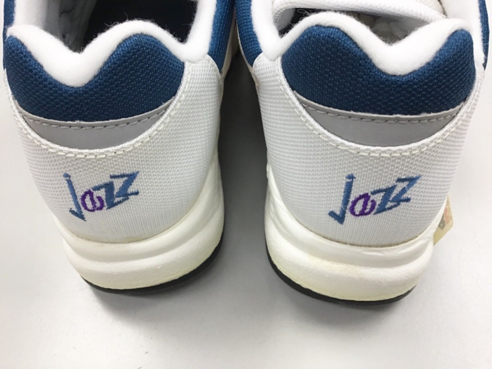 Vintage 90's Saucony Jazz 4000 bianca Berry Berry Berry blu donna running scarpe e8e7a9