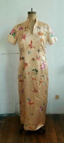 Handmade silk Qipao style dress - image 1