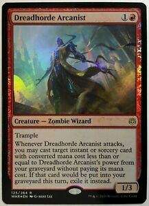 Dreadhorde Arcanist foil RARE War of The Spark MTG Magic The Gathering