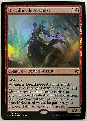 1x FOIL Dreadhorde Arcanist Near Mint Magic modern legacy cube WAR OF THE SPARK