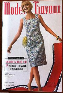 Mode-amp-Travaux-du-7-1966-Page-poupees-Marie-Francoise-et-bebe-Michel