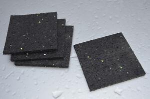 Kühlschrank Vibrationsdämpfer : Antivibration pads gummipads vibrationsdämpfer unterlage