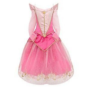 NEW! DISNEY WORLD Princess SLEEPING BEAUTY Fancy Dress COSTUME 7/8