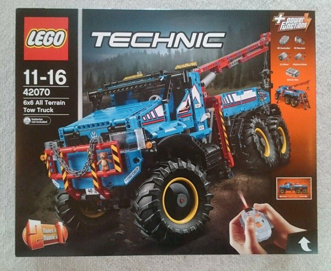 LEGO TECHNIK 42070 6x6 All Terrain Tow Truck NEU & OVP