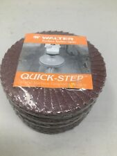 7 7 Walter Surface Technologies 07Q074 Quick-Step Backing Pad