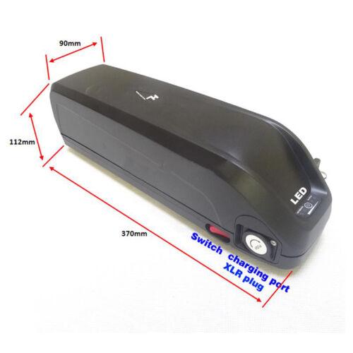36V 48V Electric Bicycle Battery Box Case 5V USB HaiLong E-bike Holder For 18650