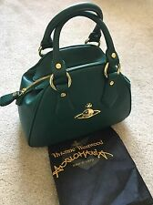 Vivienne Westwood Divina Handbag Bag 6120 Green Brand New