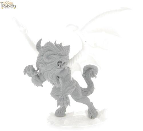 3D figurine 28mm Jeux de rôle//9th age//Cthulu-Manticore