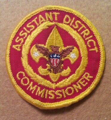 NEW  A00212A BOY SCOUT COMMISSIONER/'S ARROWHEAD AWARD 1959 TO CURRENT
