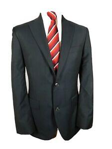 Austin Reed Mens Suit Jacket Ch40 R Navy Pure Wool Ebay
