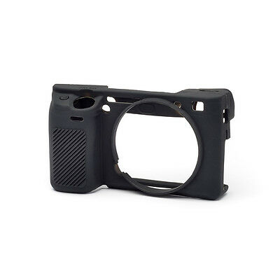 easyCover Pro Silicone Skin Camera Armor Case to fit Sony A6300 Camera - Black