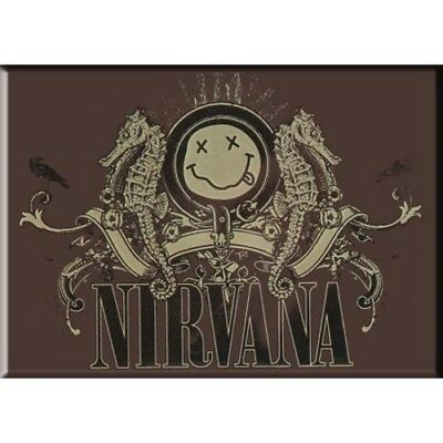 Apprensivo Nirvana Fridge Magnet Calamita Seahorse Official Merchandise Per Classificare Prima Tra Prodotti Simili