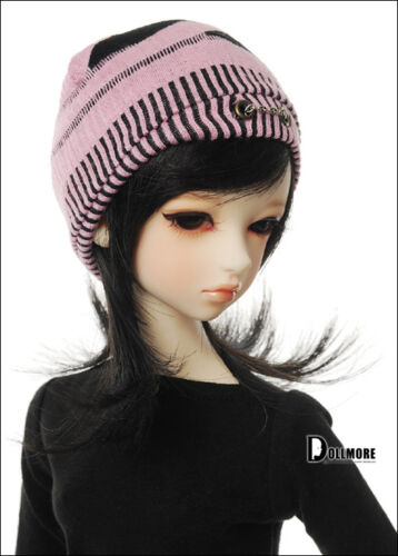 Pink Dollmore BJD Natural Beanie 8-9