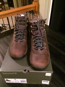 New!Timberland White Ledge Waterproof Mid Hiking Boots, Mens Size 10 /Med. Brown