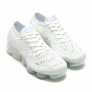 cheap for discount f1c49 ce317 Details about New Women's Nike Air Vapormax Flyknit White Sail Light Bone  size 9 849557 100