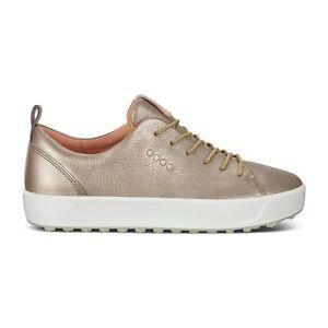 BNIB-Ecco-Womens-Casual-Hybrid-Soft-Golf-Shoes-Warm-Grey-Eu-40-UK-6-5-7-PGA-SALE