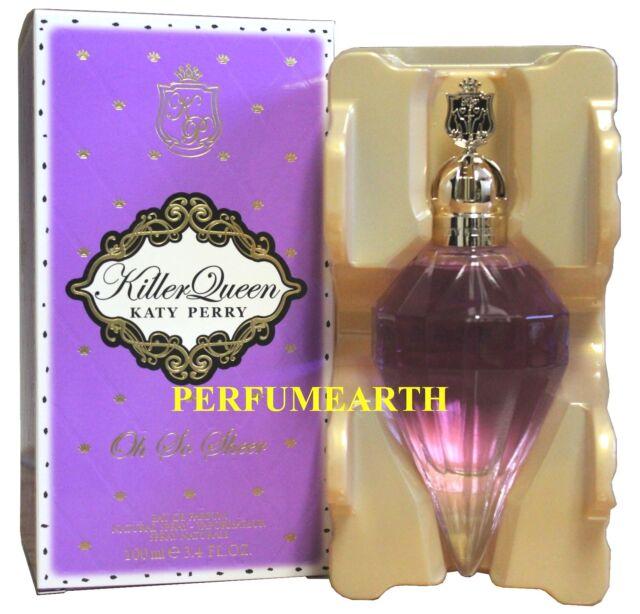 Katy Perry Killer Queen Oh So Sheer Women 3.4/3.3 oz Eau de Parfum Spray New