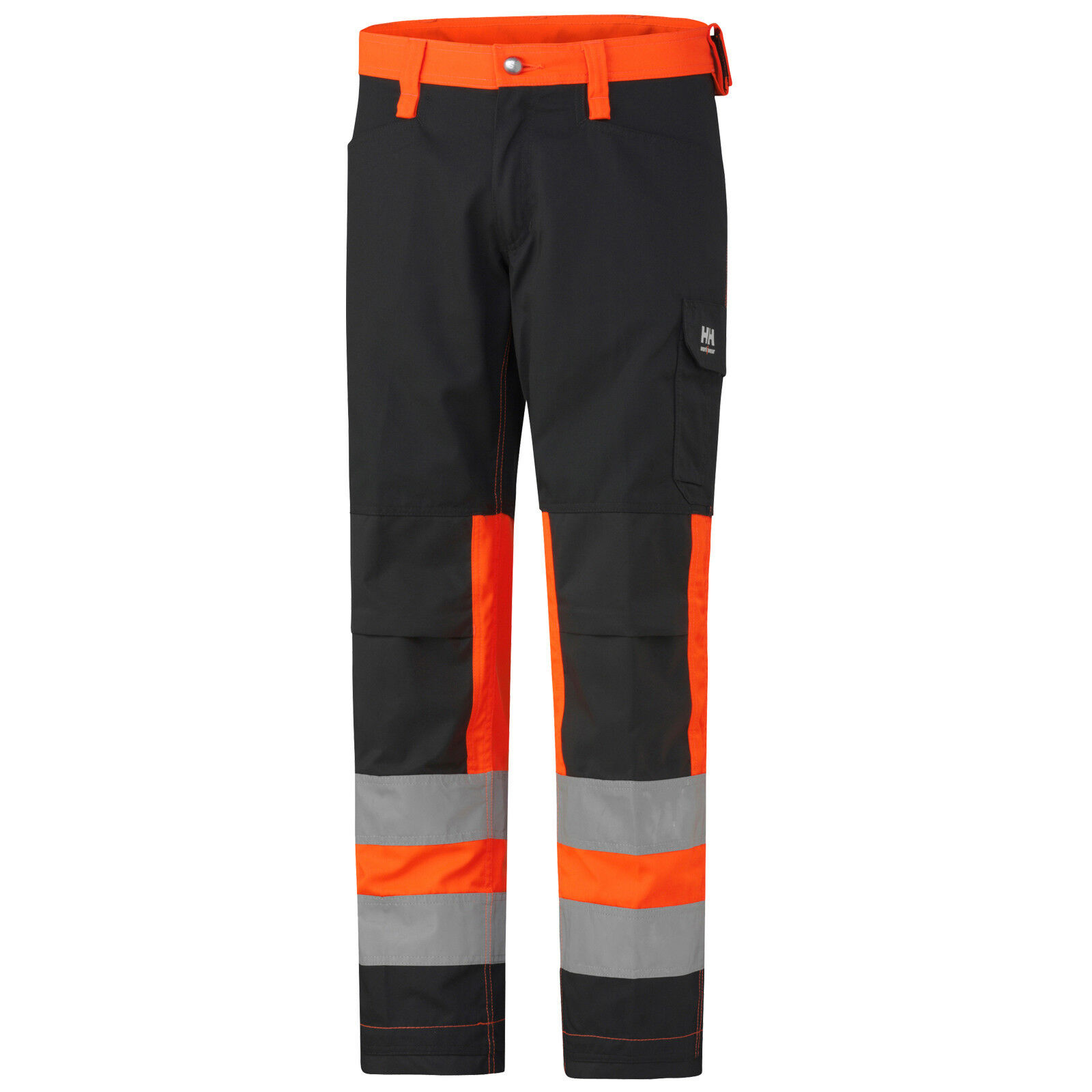 HELLY HANSEN WORKWEAR YORK PANTS HIGH VIS Orange 76457