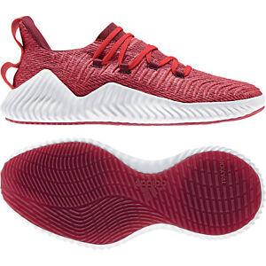 16dcc3a2ef2dcb adidas AlphaBOUNCE Trainer - Herren Sneaker Freizeitschuhe - AQ0674 rot weiß