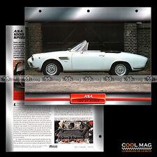 #074.06 ★ ASA 1000 GT SPIDER 1965 ★ Fiche Auto Car card