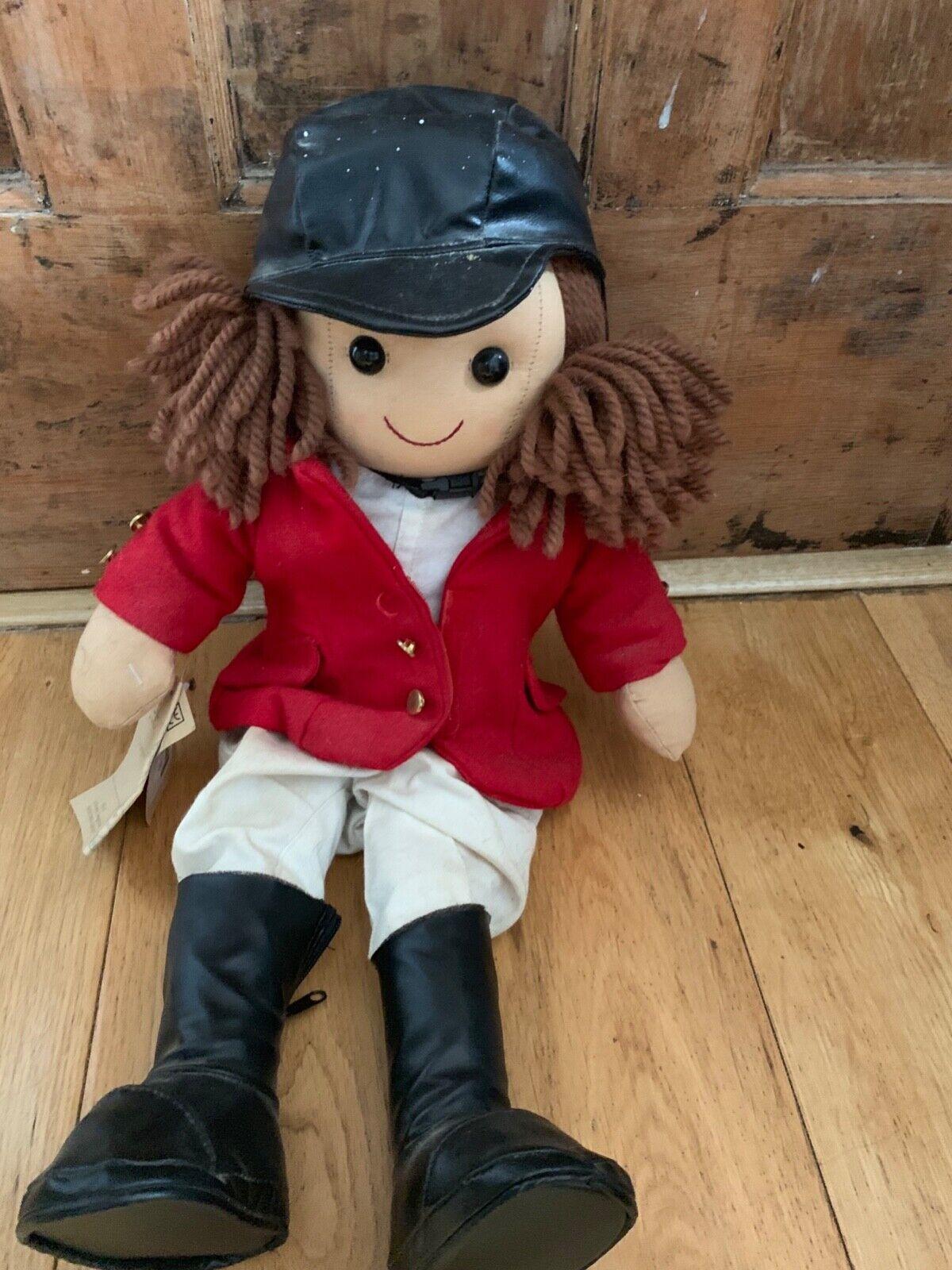 La mia bambola da collezione Equestre Bambola con Vestiti  rimovibile e Stivali  varie dimensioni