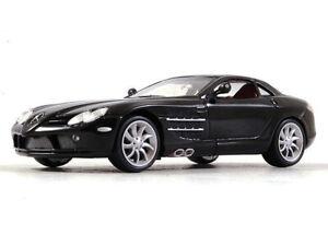 Mercedes-Benz-SLR-McLaren-Ano-2004-Diecast-Escala-1-43-Coleccion-Coche-Modelo