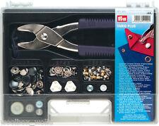 Prym VARIO Plus Sortimentskasten nähfrei Zange Lochzange Druckknöpfe Art. 651420