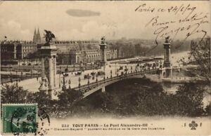 CPA Tout PARIS - 222 - Le Pont Alexandre III (145202)