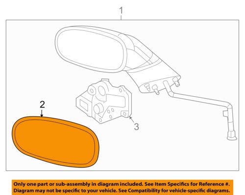 Chevrolet GM OEM 97-04 Corvette Outside Mirrors-Door-Mirror Glass Right 12530714
